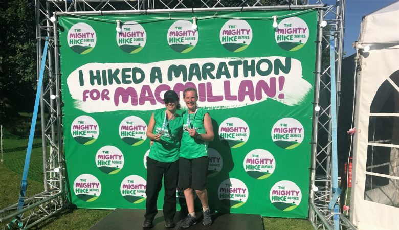 Macmillan. Cancer support – Jin completes the Lake District Mighty Hike